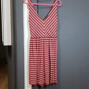 Cross back summer dress